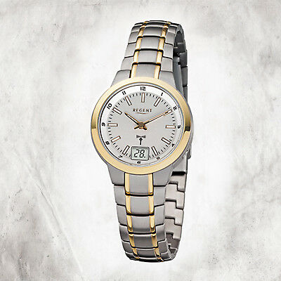 Funkuhr Armband Uhr Regent Gold Grau Herren Titan Urfr191Ebay Fr 191 3A45jLqR