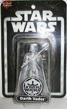 Star Wars 2004 DARTH VADER Silver New Unopened Figure 25TH ANNIVERSARY