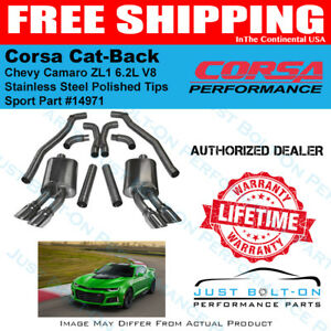 CORSA 14971 Sport Cat-Back Exhaust System