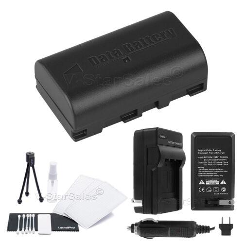 Bonus Para Jvc Minidv Y Everio Videocámaras Bn-vf808 Batería Cargador