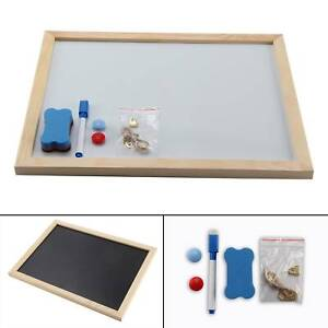 Magnetic-Whiteboard-A3-Dry-Wipe-Eraser-Markers-Memo-Notice-Office-School