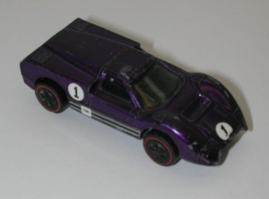 rojoline Hotwheels Hotwheels Hotwheels Pruple 1968 Ford J coche oc15678 11eb67