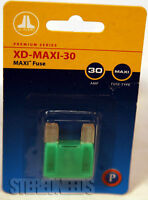Jl Audio Xd-maxi-30 Maxi Blade Type Fuse 30 Amp Car Electrical Durable Blue