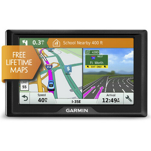 Garmin Drive 51LM 5 Inch GPS Navigator with Free Lifetime Map Updates