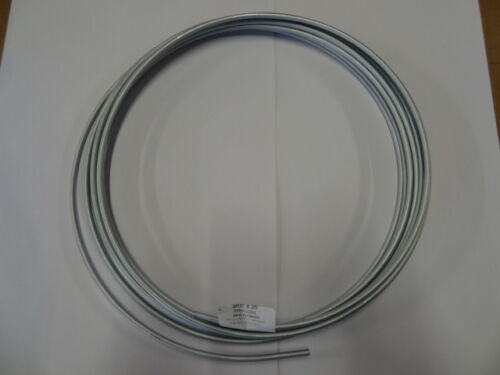 """3//16/"""" x 25/'  Zinc Coated Coil3//16 inch x 25 ft roll c3 Brake Line"""