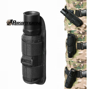 360-Rotating-UltraFire-Flashlight-Holster-Rotate-Belt-Clip-Nylon-Torch-Pouch-Bag
