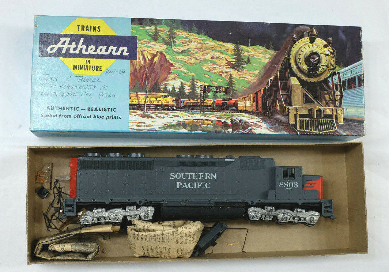 Athearn 8803 HO Scale Southern Pacific SD45 Diesel Locomotive C-2 condition MS