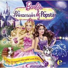 """BARBIE """"DIE PRINZESSIN & DER POPSTAR"""" CD HÖRBUCH NEU"""