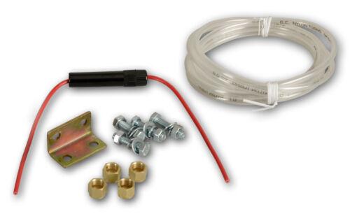 Aire comprimido-Horn con compresor 12 voltios//aire Tank 6 bar señal cuerno claxon caravana