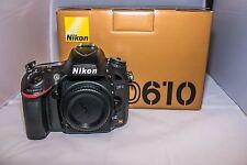 Nikon D D610 24.3MP Digital SLR Camera - Black (Body Only) - SC 5300