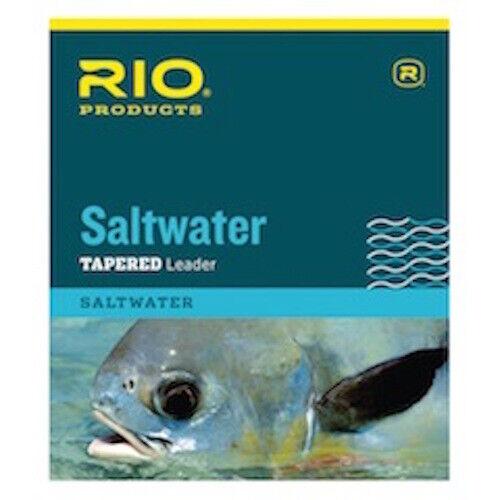 Rio Saltwater Tapered Leader 10/' 16 lb environ 7.26 kg