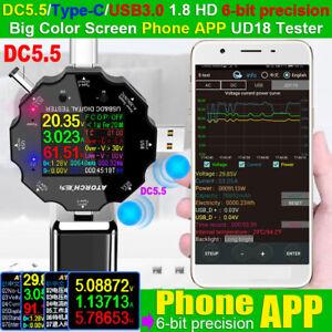 UD18-USB-3-0-18in1-USB-Tester-DC-Digital-Voltmeter-Ammeter-Voltage-Detector-U-N
