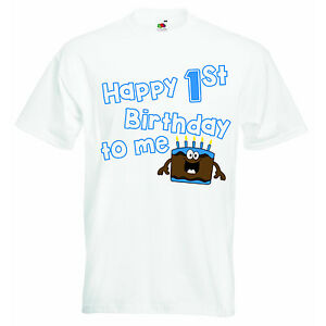 Image Is Loading Happy First Birthday To Me New Personalized Graphic