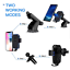 thumbnail 6 - Qi Wireless Car Charger Auto Clamping Mount Fast Charging Air Vent Phone Holder
