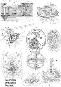 Tourbillon Uhrwerk Technik auf 720 Seiten NEU
