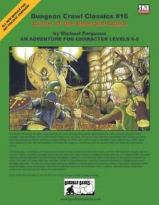 1x-Dungeon-Crawl-Classics-16-Curse-of-the-Emerald-Cobra-Used-Fine-dungeon-Craw