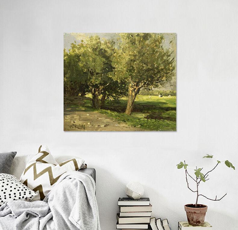 3D Bäume und Gras 564 Fototapeten Wandbild BildTapete AJSTORE DE Lemon