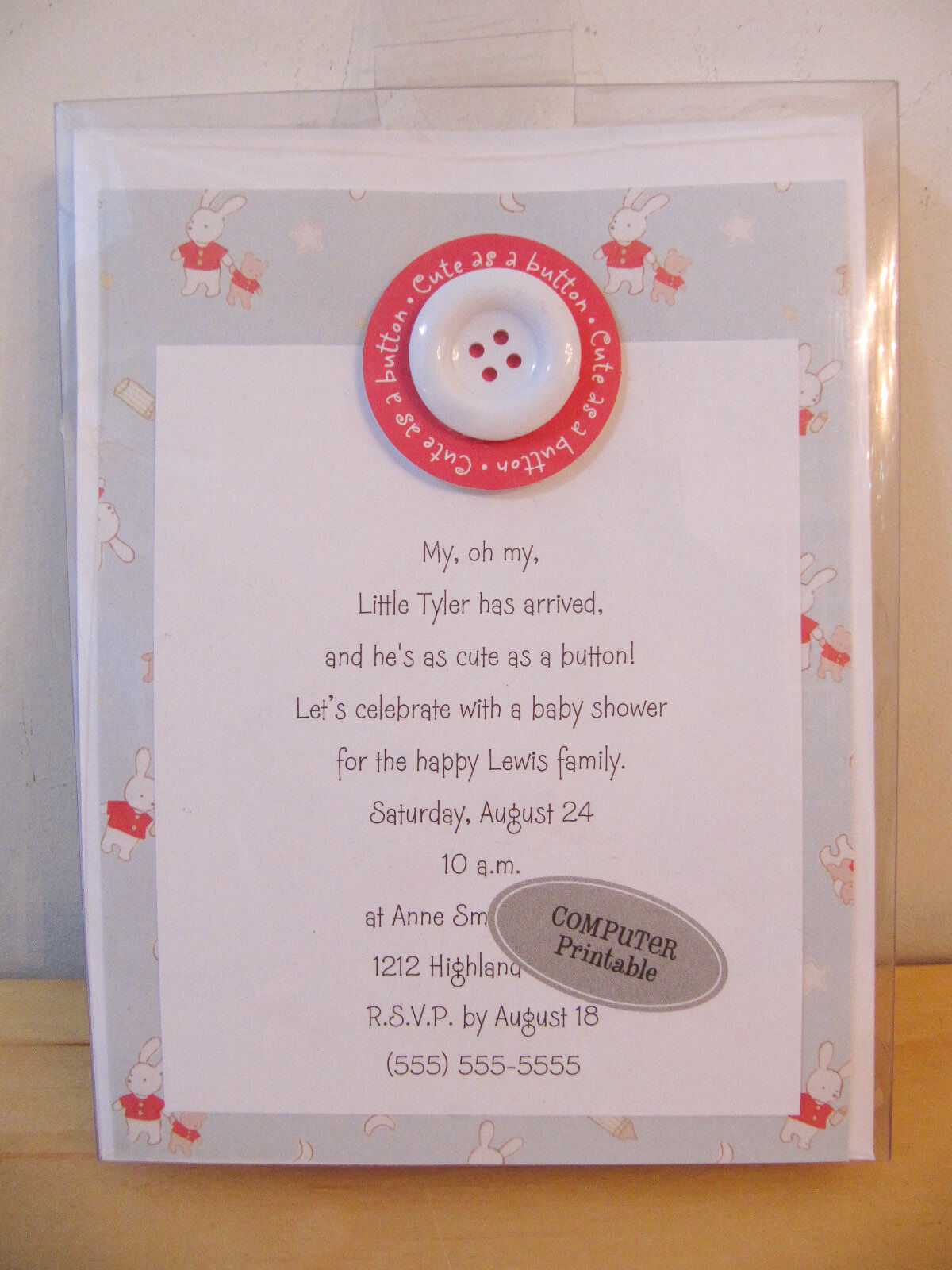 Birth Announcements & Cards Keepsakes & Baby Announcements Baby
