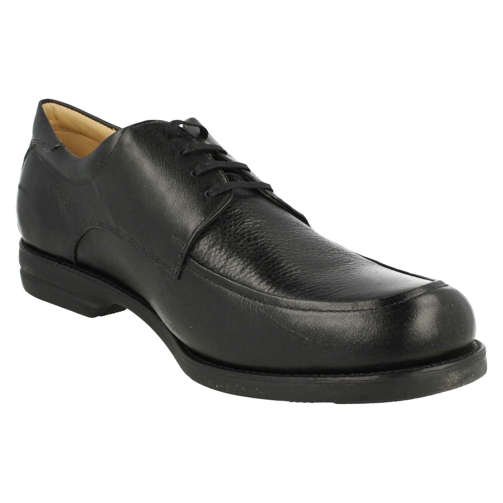Herren Anapolis schwarzes Leder Co spitze Schuhe von Anatomic and Co Leder Einzelhandel d11acf