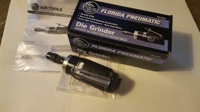 Florida Pneumatic FP-3751 Extra Heavy Duty Die Grinder