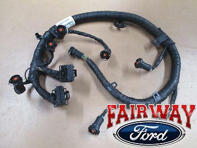 03 super duty f250 f350 oem ford fuel injector wiring harness 6.0l from  1/30/03   ebay  ebay