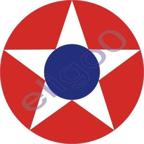 1x Costa Rica Air force Roundel vinyl sticker decal
