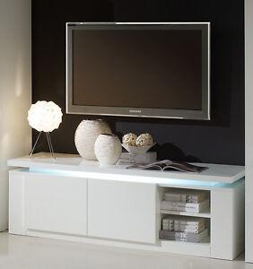 Mobile porta tv diva special bianco laccato lucido sala for Mobile sala bianco