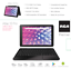 """thumbnail 2 - RCA 10"""" Quad-Core 16 GB Android 8.1 Tablet Detachable Keyboard (1 Year Warranty)"""