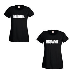 BLONDIE BROWNIE printed tshirts Hip Hop Rapper best friend t-shirts ... 24eab90fcc7d