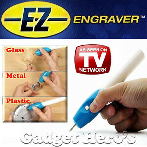 Ez Engraver Etching Engraving Pen For All Glass Metal Plastic Wood