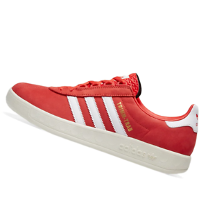 ADIDAS-MENS-Shoes-Trimm-Trab-Active-Red-White-amp-Gold-BD7629