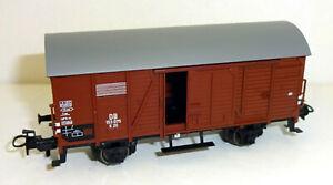 TRIX-h0-21530-4-couvert-wagons-G-20-de-la-DB-epoque-III-NEUF