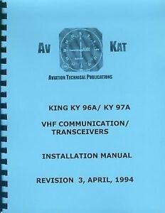 KING KY 96A / KY 97A   INSTALLATION MANUAL