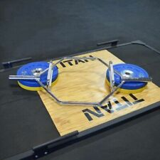 TITAN Fitness Hex Bar for Olympic Weight Lifting and Bodybuilding Barbell Acce