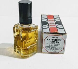 Vintage-Avon-Gift-Cologne-For-Men-Wild-Country-Cologne-2-fl-oz-FULL-BOTTLE