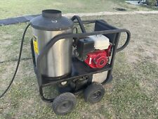 Industrial Pressure Washer With Honda Gx 390 Motor And Water Heater