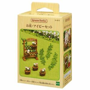 Epoch-Calico-Critters-Sylvanian-Families-FLOWERS-IVY-SET-Japan-Import-Free-ship