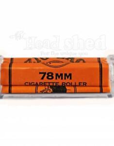 Image Is Loading 2x Zig Zag Orange 78mm Rolling Machine