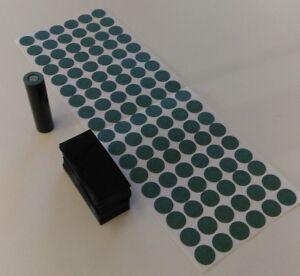 108-pcs-Pre-Cut-18650-Insulator-and-BLACK-PVC-Heat-Shrink-Wrap-Vape-ebike