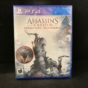 Assassin-039-s-Creed-III-3-Remastered-PS4-BRAND-NEW-Region-Free