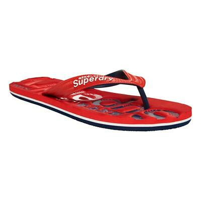 Tongs pour Homme Rouge Red Superdry