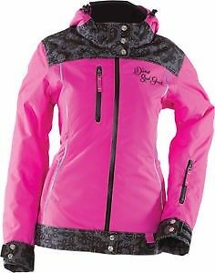 Divas Snow Gear Lace Snowmobile Jacket, size XS