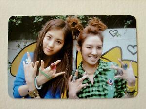 SNSD-Girls-039-Generation-2nd-Album-Oh-Official-Seohyun-amp-Hyoyeon-PhotoCard