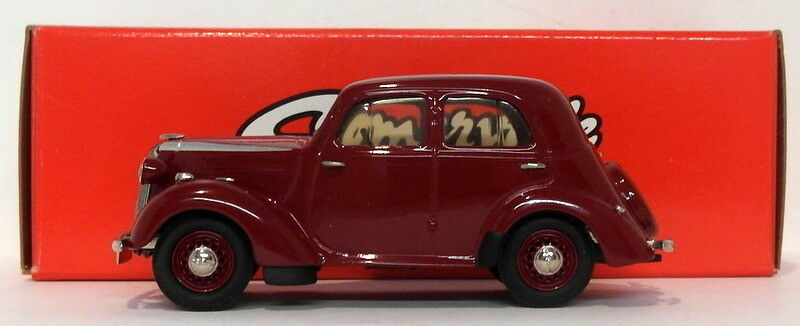 Somerville Models 1 43 Scale 152A - 1939 Vauxhall 10 H-Type - Deep rojo