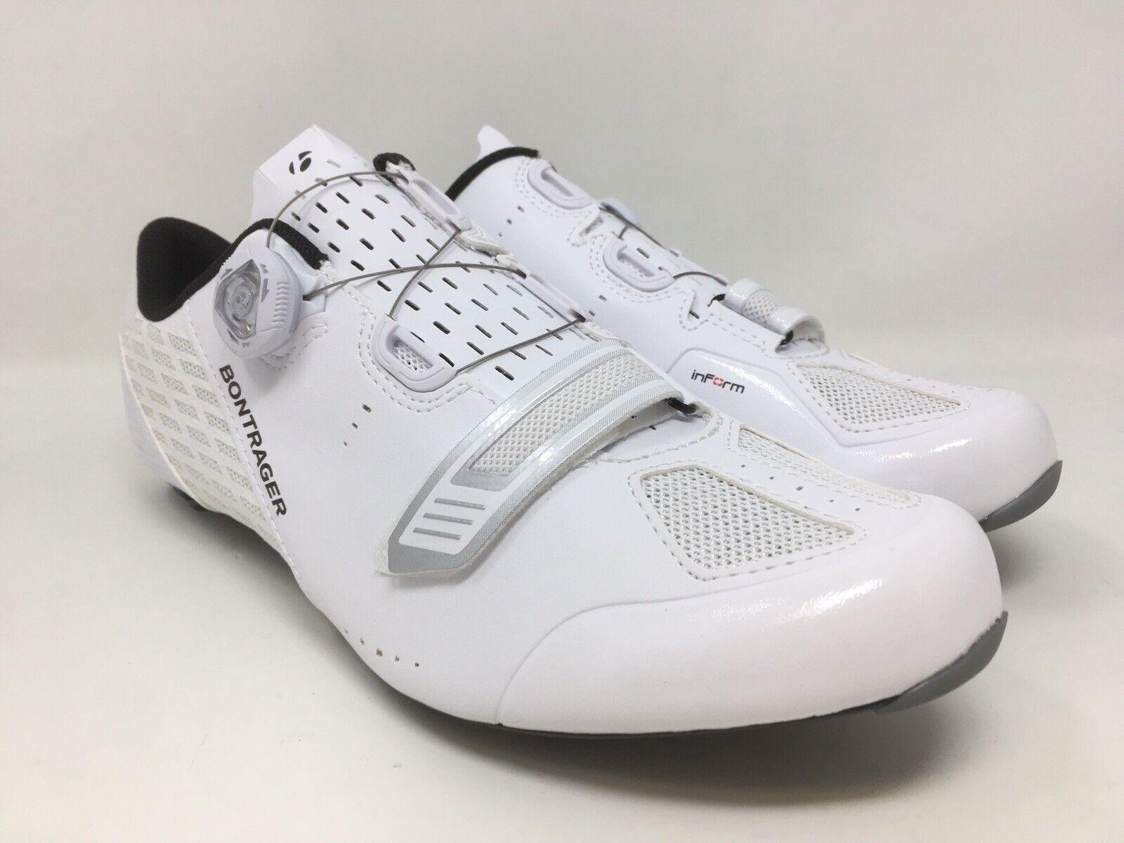 Nuevos Zapatos de carretera de carbono Bontrager velocis blancoo Varias Tallas Nuevo en Caja