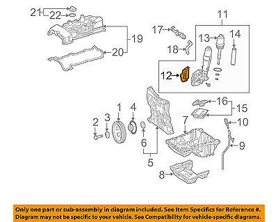 Engine Oil Filter Housing Gasket for Mercedes W204 C230 2003-2005 2711840180