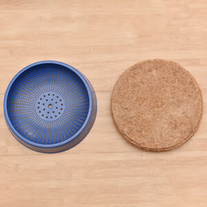 Pigeon-Supplies-Plastic-Dehumidification-Bird-Egg-Basin-Nest-Bowl-Grass-Mat-2