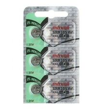 Maxell 371 SR920SW SR920 V371 D371 605 Watch Battery 0% MERCURY ( 3 PC )