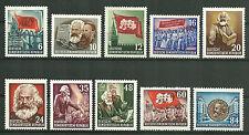 DDR MiNr. 344-353 (Karl Marx) kpl. postfrisch