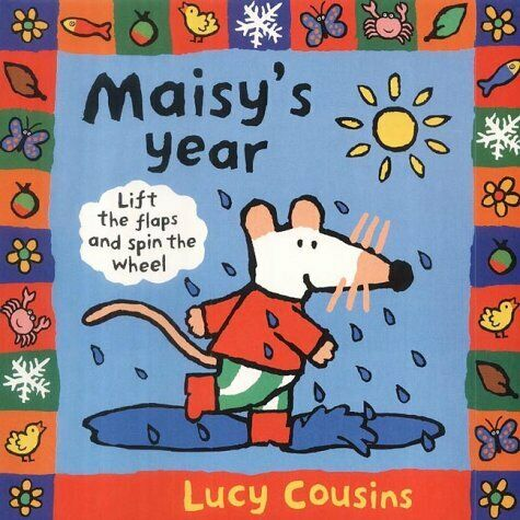 Maisy's Year by Cousins, Lucy, Good Used Book (Board book) FREE & FAST Delivery!